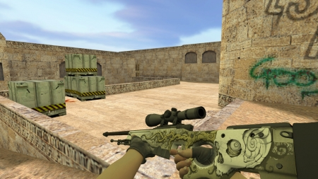<b>Модель</b> HD AWP «Worm God» с анимацией